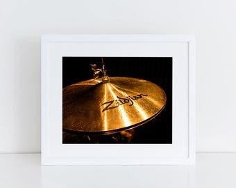 Zildjian Cymbol - Music - Fine Art Photography Print