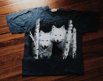 Wolf Tshirt size Medium/Large