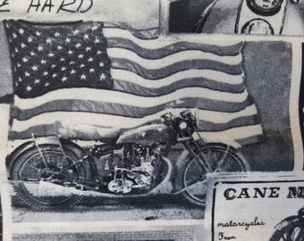 Motorcycle fabric | Etsy : motorcycle quilting fabric - Adamdwight.com