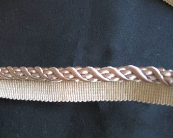 """Beige Cord with Lip - 3/8"""" Diameter -- Need More, Let Us Know"""