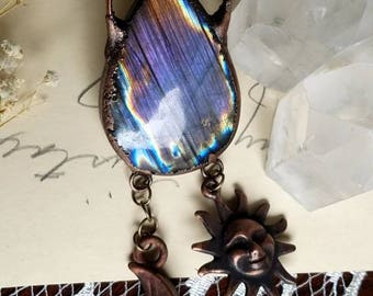 Payment plan for carol: celestial Purple Galaxy Necklace