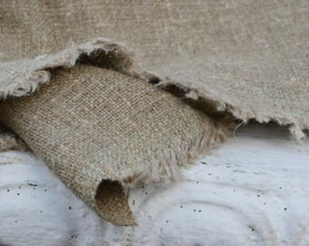 100% natural linen | Heavy weight fabric | Gift wrap fabric | Linen fabric | Linen crafts | Scrapbooking | Limited edition