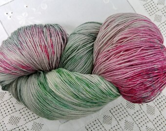 Cornelia 500g Pure British Wool Worsted spun Amazon warrior base. One complete skein 1200 metres/ 1300 yards DK/aran weight