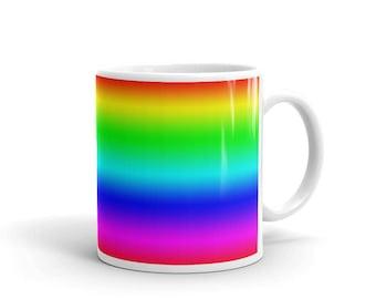 New Ceramic Rainbow Mug