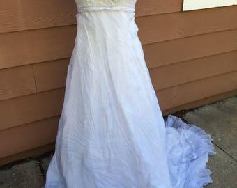 Dyed jane austin style dress