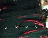 Spot broche midbust corset