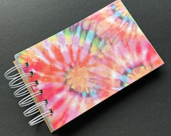 """4"""" x 6"""" Handmade Art Journal, Scrapbook, Mixed Media, Gift Book H"""
