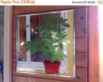 4th of July sale Academy Art Mirror Graphic Art Mirror Dimensional Art Mirror Plant Mirror