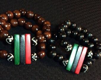 RBG Double Bracelets
