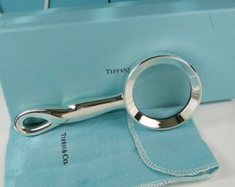 Tiffany & Co. Padova Large Magnifying Glass by Peretti - Rare Piece-Monogrammed