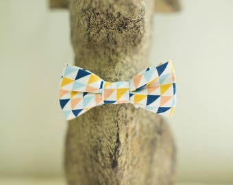 Bow tie child geometric pattern