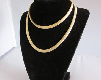 "30"" Herringbone Chain"