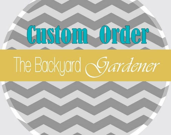 Custom Centerpiece order - Reserved for Anne