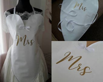 New design....Bibbidy Bride-Bridal Bib