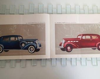 1937 Packard Dealer Catalog - Packard 120 - Packard 6