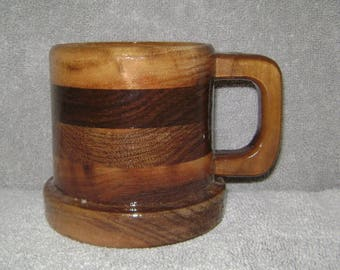 Walnut Coffee Cup Mug