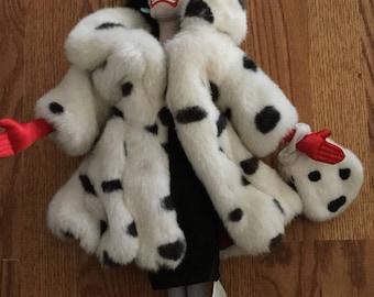 Cruella Deville plush