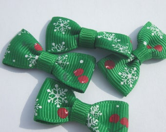 fabric pattern Christmas 34 mm approx - 4 knots (A33