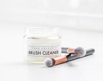 BRUSH CLEANER // Solid Cosmetic Brush Cleansing Balm  - - - Vegan ∙ Organic ∙ 100% Natural
