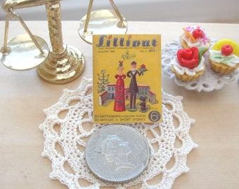 dollhouse  wartime   uk pocket magazine  copy  january 1939  miniature 12th scale