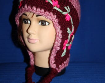 Peruvian pink Maroon adult very very warm