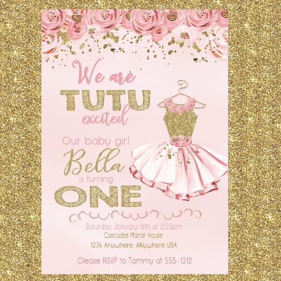 Ballerina birthday invitation tutu invitation tutu birthday party il570xn filmwisefo
