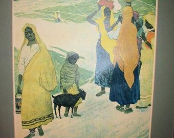 Women of  Radjastan  by Soviet artist Mikail Abdullayev  Print