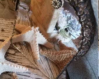 Vintage Barbola Wood Mirror