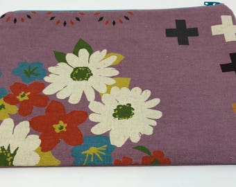 Sale! Zipper pouch Lady purple