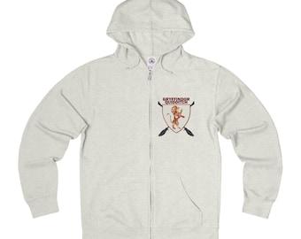 Floral Gryffindor Quidditch Full Zip Sweatshirt