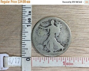10% OFF 3 day sale 1916 Half Dollar 50 Cent Coin Money Used Lot BB