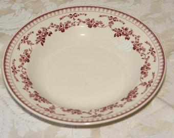 "Comptoir de Famille ""FAUSTINE"" 9-inch Soup Plate - Vtg New"