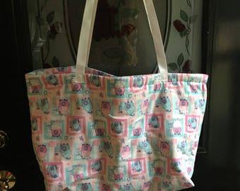 Diaper bag with 4 inside pockets