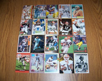 100 Cleveland Browns Football Cards