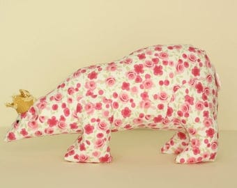 Textile Fabric Polar Bear