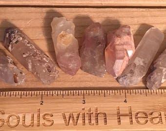 Lithium Natural Quartz Crystal Medium Point,Spiritual Stone, Healing Stone, Healing Crystal, Chakra