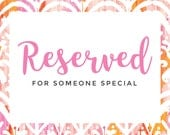 Reserved for Yailet
