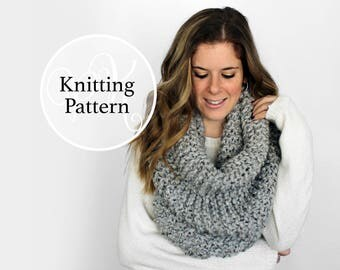 Knitting Pattern Solomon Cowl Instant Download