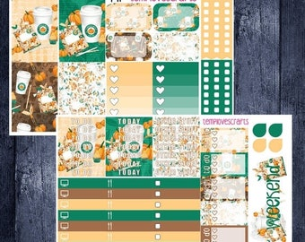 Weekend Sale Pumpkin Spice and Everything Nice Kit for Happy Planner