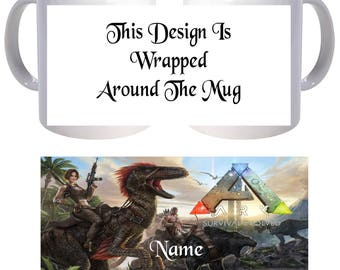 Personalised Mug - Ark Evolved - Name - Style 8