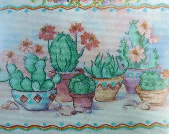 Dimensions Blossoming Cacti from the gallery collections