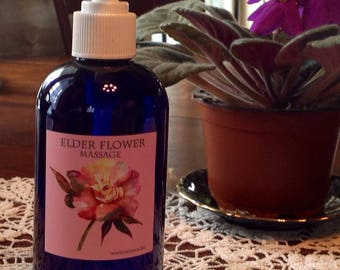 Elder Flower Massage & Everyday Body Lotion
