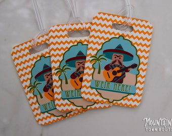 Custom Luggage Tag / Dead and Company Mexico Playing in the Sand / Grateful Dead / D&C