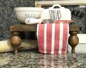 Pedestal / Riser / Modern farm style / Farm / Kitchen / Serving tray / Wood tray table / decorative pedestal
