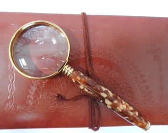 Hand Turned Magnifying Glass 60mm
