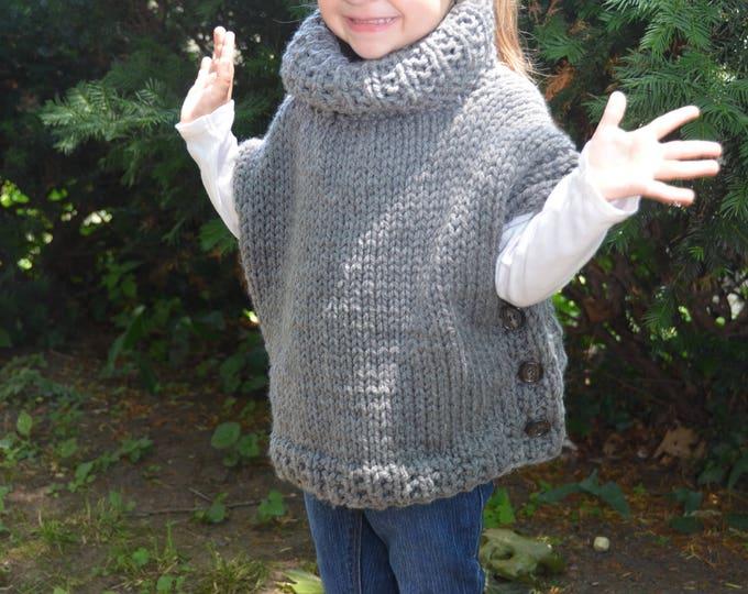 IN STOCK - Azel Pullover size 3/4 in Grey