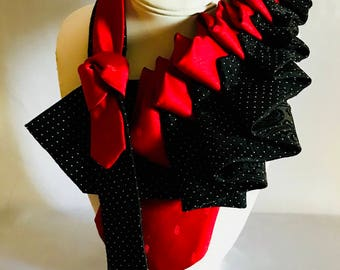 Tie Couture: The Red Queen