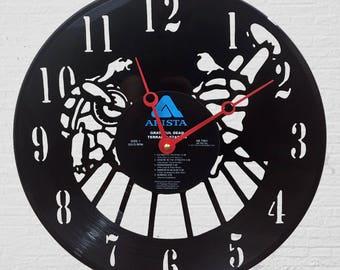 terrapin station vinyl record wall clock