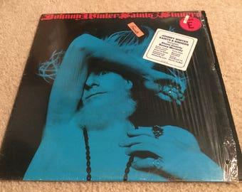 Johnny Winter saints and Sinners Vinyl Record LP album in shrink