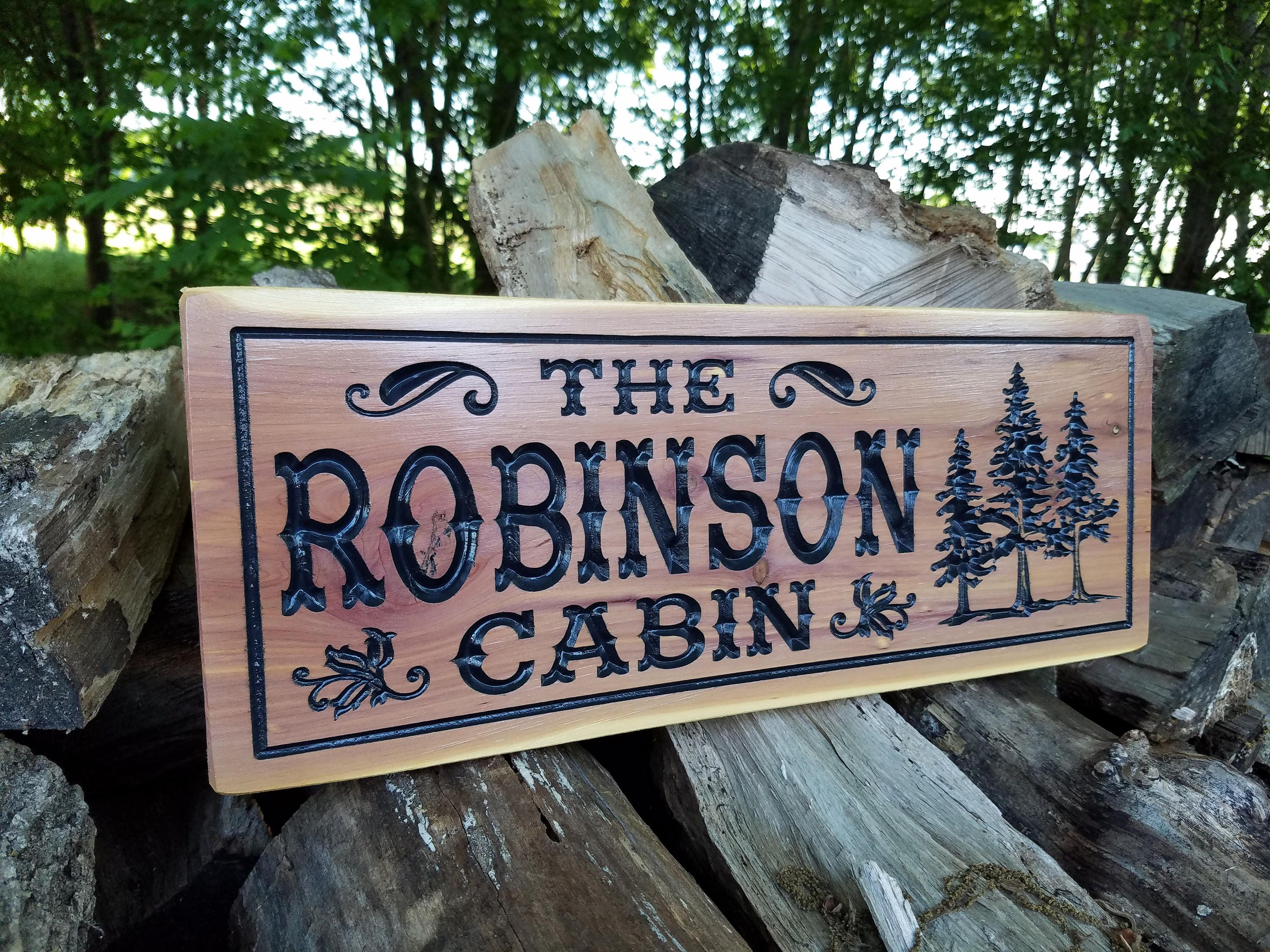 Cabin Signs Wooden Signs Custom Outdoor Name Sign. Symptom Mental Illness Signs Of Stroke. Leukemia Signs. Bulletin Board Signs. Bacteria Signs